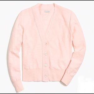V-Neck Cotton Cardigan